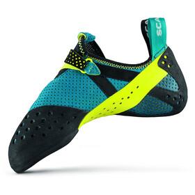Scarpa Furia Air Climbing Shoes baltic blue/yellow